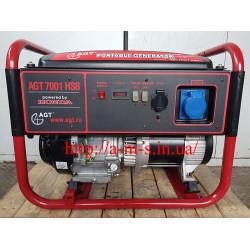 Бензиновый генератор Honda AGT 7001 HSB БУ