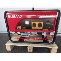Бензиновый генератор Elemax SH6500EX-S